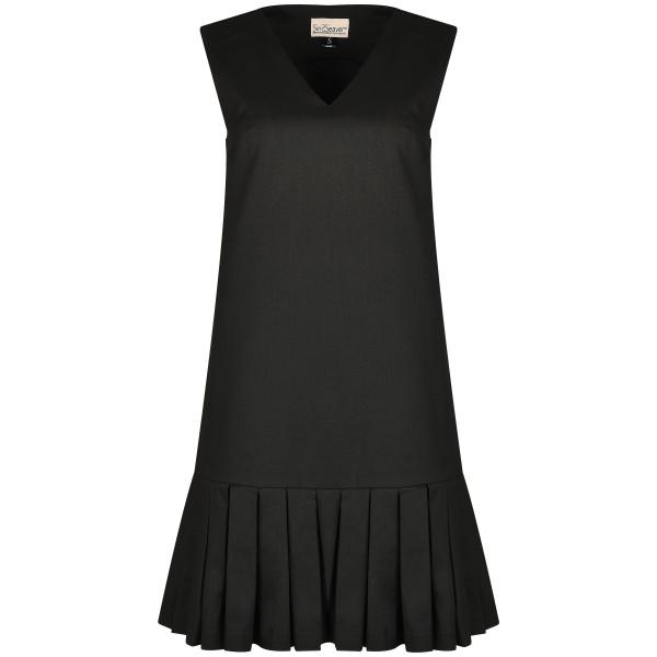 Kurzes Kleid schwarz Cocktailkleid Tencel