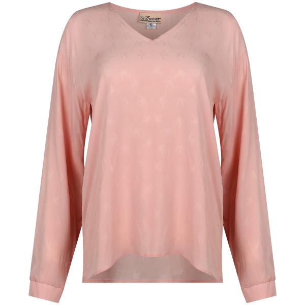 Elegante Bluse rosa Viskose