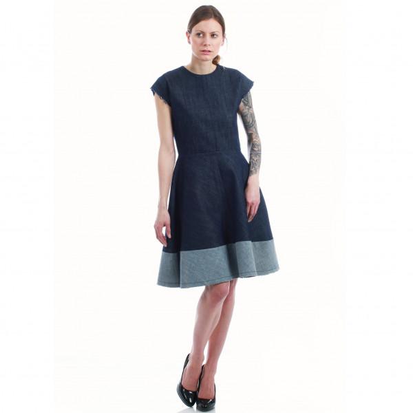 Sommerkleid aus öko Jeans - Bio-Baumwolle
